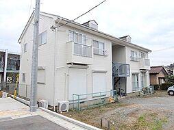 千葉県流山市松ケ丘2丁目の賃貸アパートの外観
