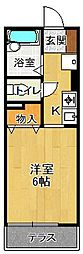 MKハイム[1階]の間取り