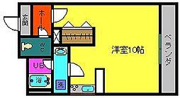 プリンセスマンション[7階]の間取り