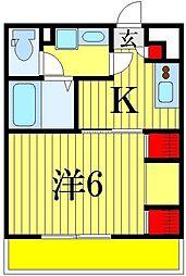 (仮称)リブリ・東四つ木[1階]の間取り