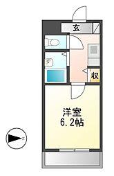 いのうビル[4階]の間取り