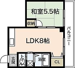 第5田宮ビル[4階]の間取り