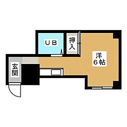 Y'sマンション[2階]の間取り