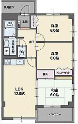 RYU-SUI S[2階]の間取り