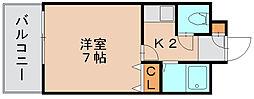 ミモリハイム[2階]の間取り