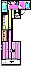エルム荘[2階]の間取り