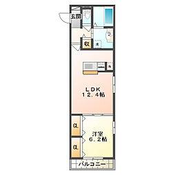 仮)東野町D-room[1階]の間取り