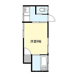 高橋荘[1階]の間取り