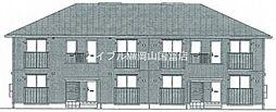 岡山県岡山市東区西大寺新地の賃貸アパートの外観