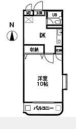 M Part 1[2階]の間取り