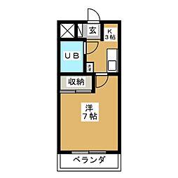 柴田ビル[3階]の間取り