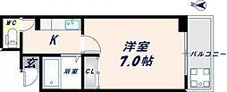 大宝長田ルグラン[7階]の間取り