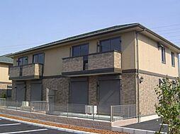 千葉県柏市高柳新田の賃貸アパートの外観
