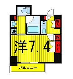 ザ・パークハビオ浅草駒形[8階]の間取り