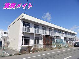 三重県四日市市広永町の賃貸アパートの外観