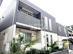 JR中央本線 三鷹駅 バス20分 中原三下車 徒歩3分の賃貸アパート