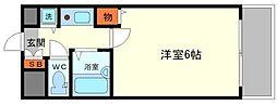 リーガル新大阪V[11階]の間取り