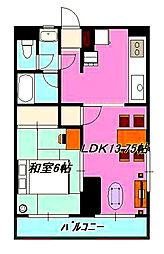 第五大場ビル[203号室]の間取り