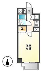 ラウムズ富士見町[4階]の間取り