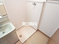 西田ビルの洗面脱衣所