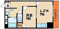 西明石ピア[6階]の間取り