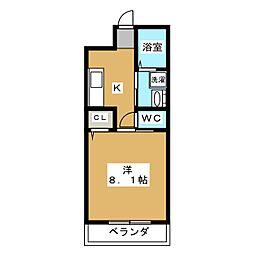 MESA VERDE 桂 A棟[3階]の間取り