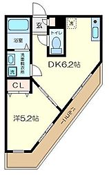 ドリームコート金沢八景[3階]の間取り
