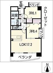 シャルム12[7階]の間取り