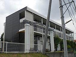 神奈川県横浜市緑区白山4丁目の賃貸アパートの外観