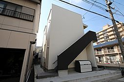 愛知県名古屋市中川区畑田町3の賃貸アパートの外観