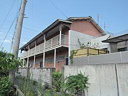 福岡県北九州市八幡西区楠橋上方1丁目の賃貸アパートの外観