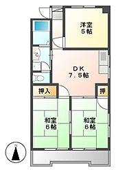第2豊嶋ビル[2階]の間取り