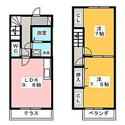 DOLPHIN HOUSE[2階]の間取り