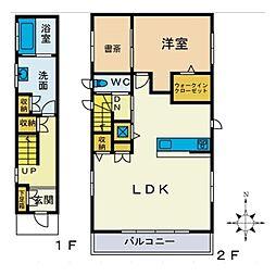 水引IIDA[2階]の間取り