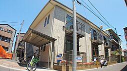 埼玉県川口市西青木5丁目の賃貸アパートの外観