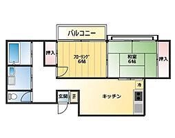 [タウンハウス] 東京都練馬区土支田4丁目 の賃貸【東京都 / 練馬区】の間取り