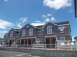 鹿児島県指宿市湯の浜3丁目の賃貸アパートの外観