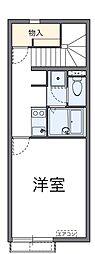 クレストタウンC[2階]の間取り