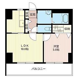 コンフォート・アーバン[5階]の間取り