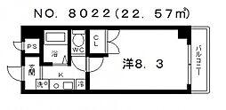 メゾンルヴェソレイユ[3階]の間取り