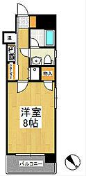ローズガーデンI[8階]の間取り