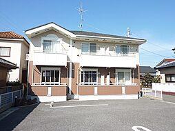 千葉県野田市桜台の賃貸アパートの外観