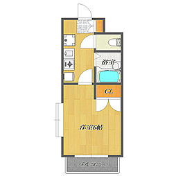 Fuji Mansion Excel 〜フジマンションエクセ[803号室]の間取り