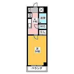 メッセ平針[4階]の間取り