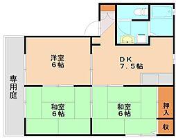 シャローム3C[1階]の間取り