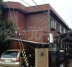 京都府京都市北区上賀茂向縄手町の賃貸アパートの外観