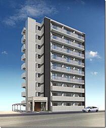 駅前町新築マンション[4階]の外観
