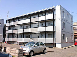 北海道札幌市東区北丘珠四条1丁目の賃貸マンションの外観