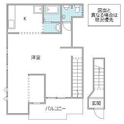 CBI住宅[2-1号室号室]の間取り