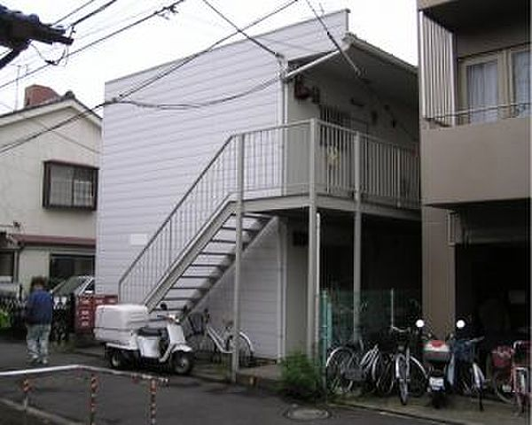 東京都中野区上高田3丁目の賃貸アパート